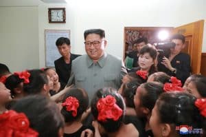 Supreme Leader Kim Jong Un Visits 250-Mile Journey for Learning Schoolchildren's Palace