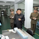 Kim Jong Un Provides Field Guidance to May 11 Factory