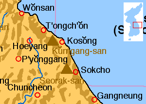 Kumgang Local Map