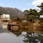 Resting Place in Lagoon Samil - DPRK