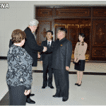 Kim Jong Un Enjoys Performance Given by Orchestra of 21st Century of Russia
