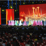 National Folk Art Troupe Performs in Dandong, China