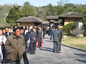 Mangyongdae is the birthplace of President Kim Il Sung. It is a uniquely popular spot for tourists and locals, alike.