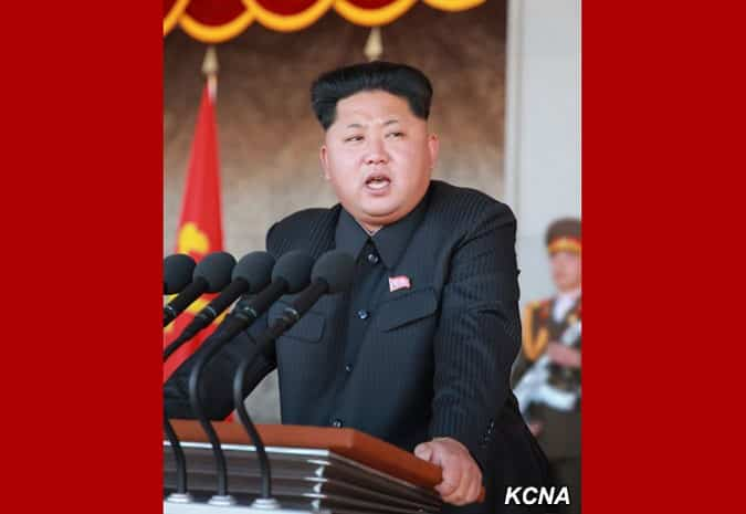 Kim Jong Un, first secretary of the Workers' Party of Korea
