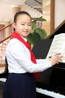 Han Il Yong, 12, is renowned as a star in the pianists' world.