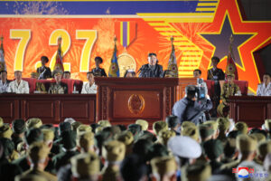The Great Heroic Spirit of the Victorious Wartime Generation Will Be Brilliantly Carried Forward Speech at the Seventh National Conference of War Veterans  July 27, Juche 110 (2021)