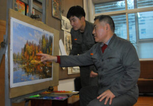 Father and Son Artists